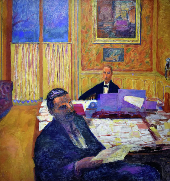 Wall Art - Painting - The Brothers Bernheim-jeune - Digital Remastered Edition by Pierre Bonnard