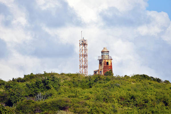 Photograph - The Buck Island Historically Endangered Lighthouse Se View by Climate Change VI - Sales