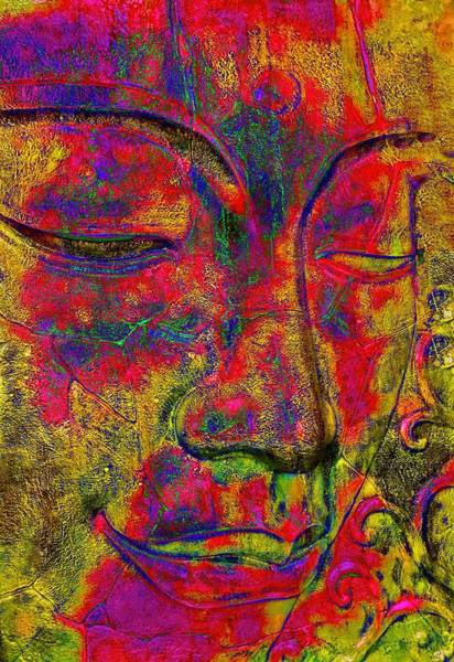 Parable Visions Wall Art - Photograph - The Buddha by Christina Ford