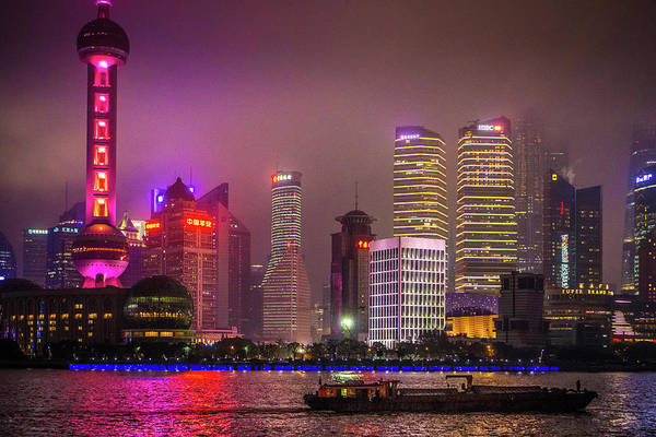 Photograph - The Bund Shanghai China by Gary Gillette
