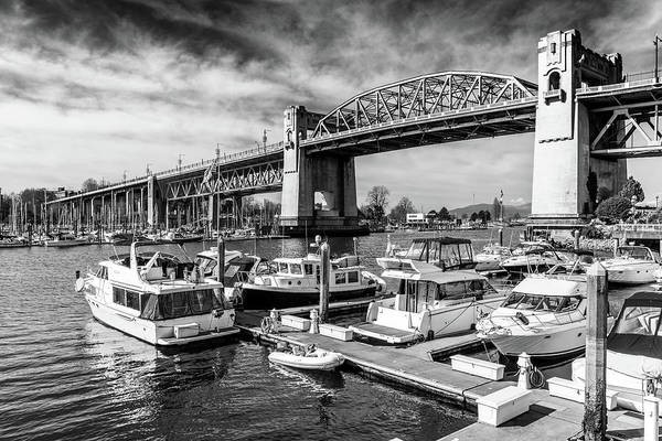 Photograph - The Burrard Street Bridge by Ross G Strachan