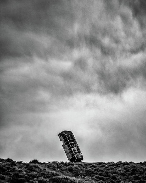 Wall Art - Photograph - The Bus Who Fell To Earth by Joseph Smith