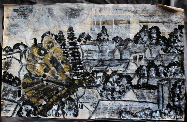 Mixed Media - The Butterfly Affect by Siobhan Dempsey