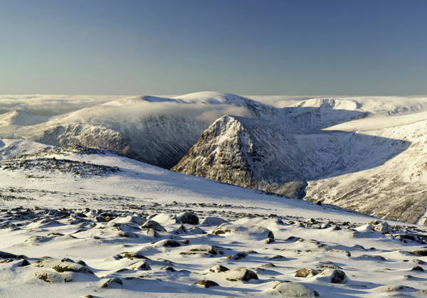 Cairngorms Photograph - The Cairngorms In Winter by Duncan Shaw