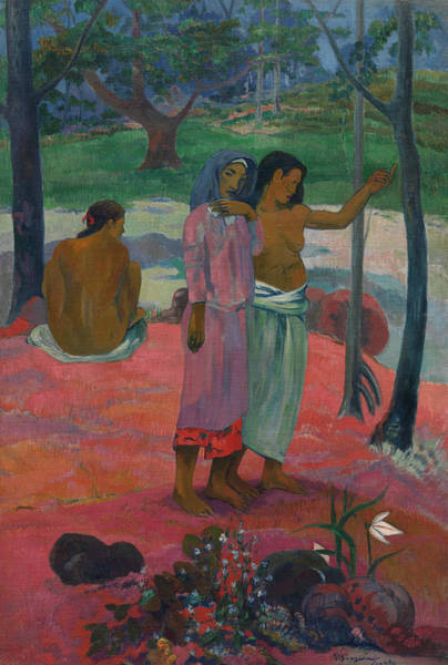Wall Art - Painting - The Call, 1902 by Paul Gauguin