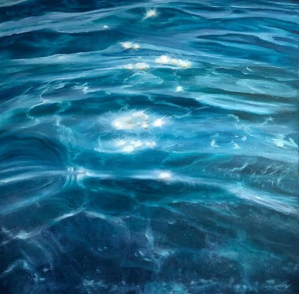 Painting - The Calm by Eva Volf