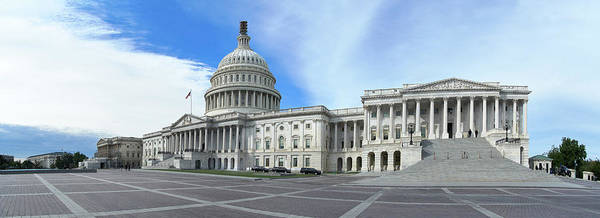 Wall Art - Photograph - The Capitol Building by Adam Robitaille