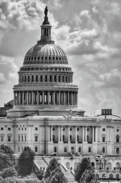 Wall Art - Photograph - The Capitol  by Kathi Isserman