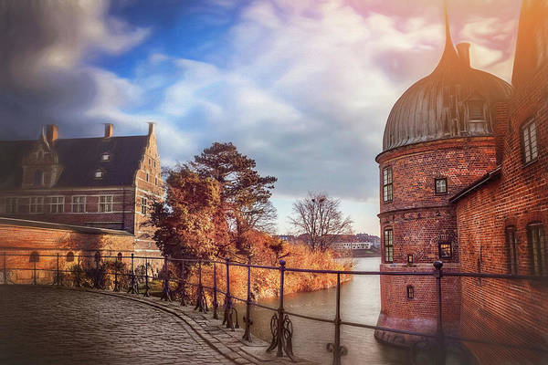 Brick Gothic Photograph - The Castle Walk by Carol Japp
