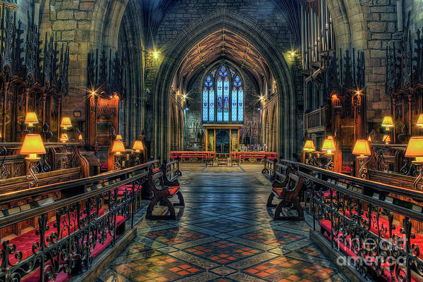Photograph - The Cathedral Church Of Saints Asaph And Cyndeym by Ian Mitchell