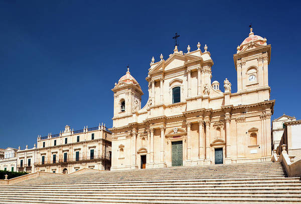 Sicily Photograph - The Cathedral Of Noto by Jorg Greuel