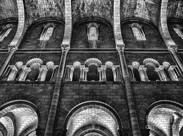 Wall Art - Photograph - The Cathedral Of Our Lady Immaculate, Monaco Bw by Wayne Moran