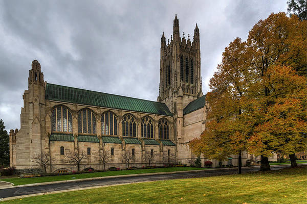 Photograph -  The Cathedral Of St. John by Mark Kiver