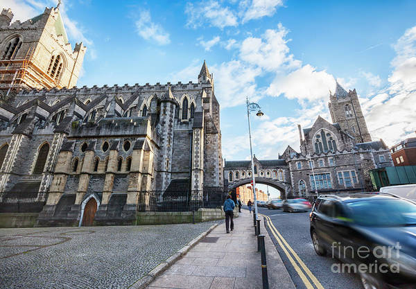 Photograph -  The Cathedral Of The Holy Trinity , Dublin by Ariadna De Raadt