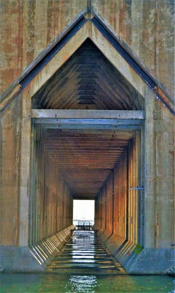 Photograph - The Cathedral Ore Dock Of Marquette by Tom Kelly