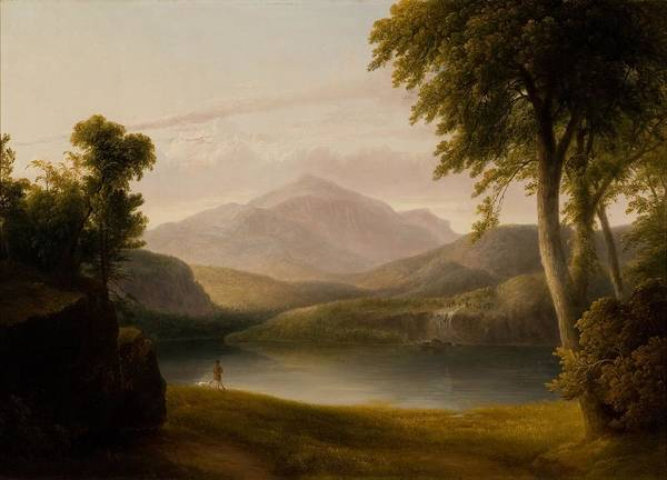 Wall Art - Painting - the Catskills  by Thomas Doughty