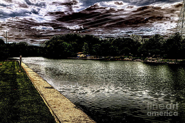 Wall Art - Photograph - The Cayuga Seneca Canal by William Norton
