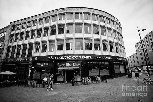 Wall Art - Photograph - The Celtic Corner Irish Pub And Bars In The Irish Quarter Liverpool Merseyside England Uk by Joe Fox