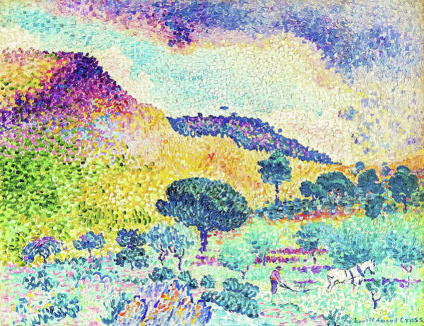 Wall Art - Painting - The Chain Of The Moors - Digital Remastered Edition by Henri Edmond Cross