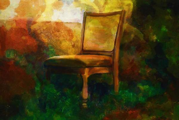 Wall Art - Painting - The Chair by ArtMarketJapan