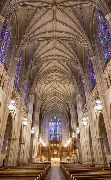 Wall Art - Photograph - The Chapel At Duke University by Stephen Stookey