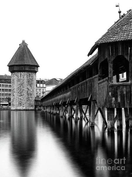 Chapel Bridge Photograph - The Chapel Bridge II by DiFigiano Photography