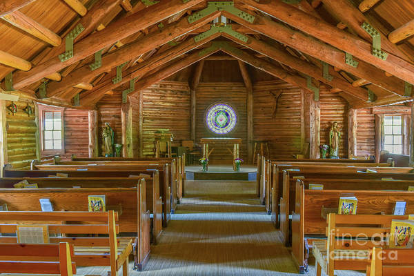 Wall Art - Photograph - The Chapel Of The Transfiguration In The Grand Teton National Park by Paul Quinn