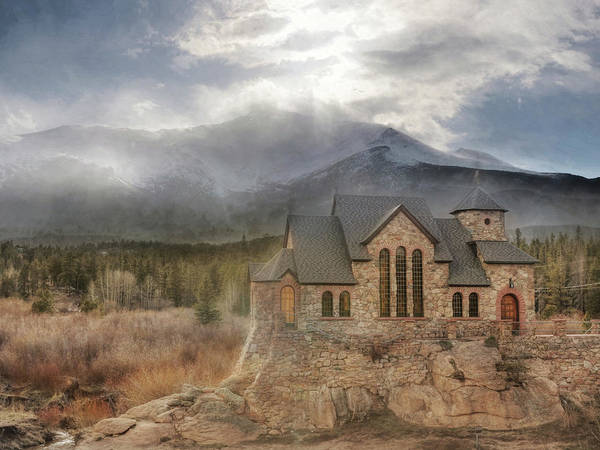 Wall Art - Photograph - The Chapel On The Rock by Lori Deiter