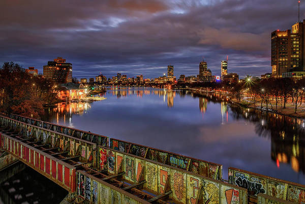 Photograph - The Charles River At Dawn by Kristen Wilkinson