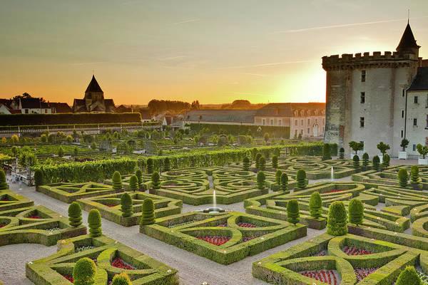 Villandry Photograph - The Chateau De Villandry And Its by Julian Elliott / Robertharding
