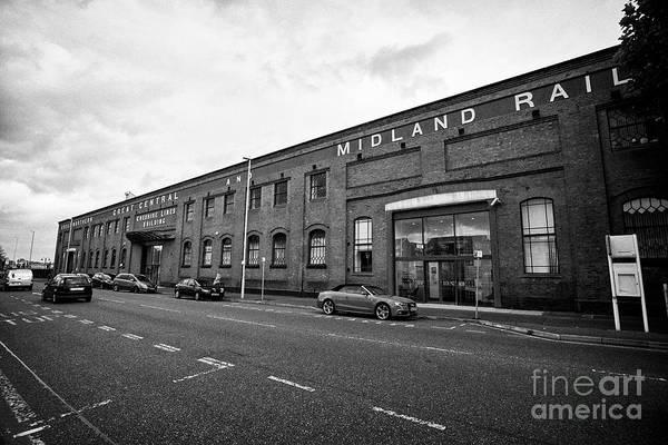 Wall Art - Photograph - The Cheshire Lines Building Wirral Metropolitan Borough Council Canning Street Birkenhead Liverpool  by Joe Fox