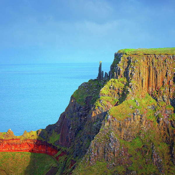 County Antrim Wall Art - Photograph - The Chimney Stacks At Giants Causeway by Mammuth