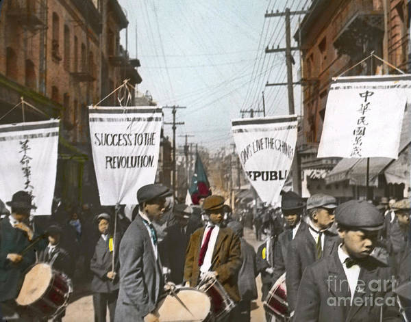 Photograph - The Chinese Revolution Of 1911 by California Views Archives Mr Pat Hathaway Archives