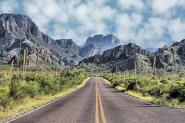 Wall Art - Photograph - The Chisos Mountains by JC Findley
