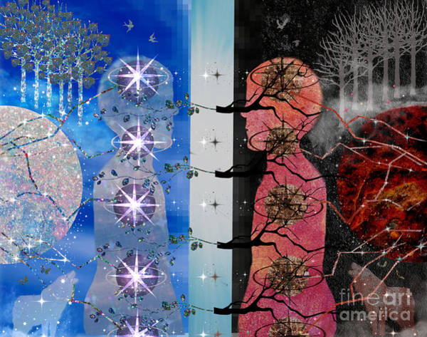 Digital Art - The Choice by Diamante Lavendar