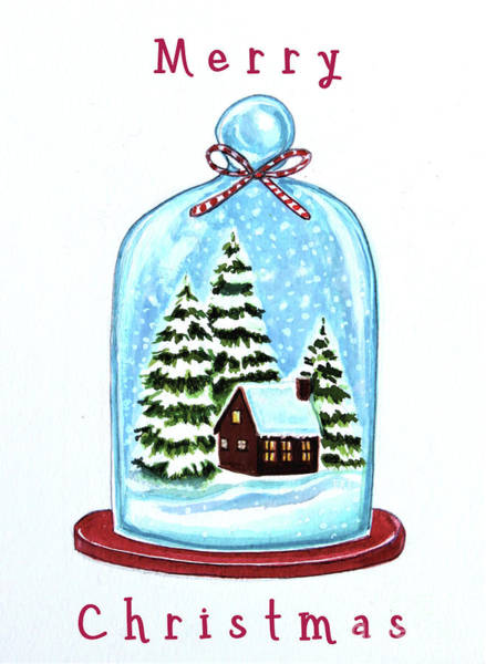 Painting - The Christmas Terrarium by Elizabeth Robinette Tyndall