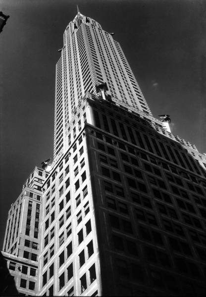 Time Magazine Photograph - The Chrysler Building, 8th Home Of Time by Margaret Bourke-white