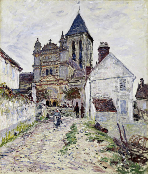 Wall Art - Painting - The Church At Vetheuil, 1878 by Claude Monet