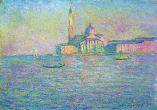 Wall Art - Painting - The Church Of San Giorgio Maggiore, Venice - Digital Remastered Edition by Claude Monet