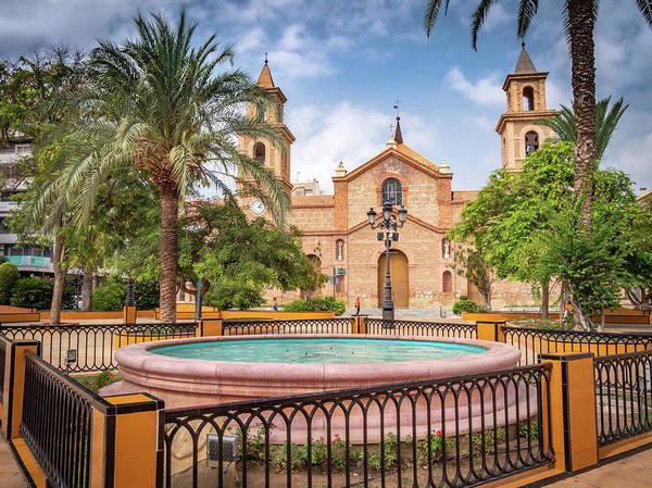 Wall Art - Photograph - The Church Of The Immaculate Conception In Torrevieja Spain by Mike Walker