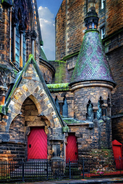 Holyrood Photograph - The Church Of The Red Doors by Debra and Dave Vanderlaan