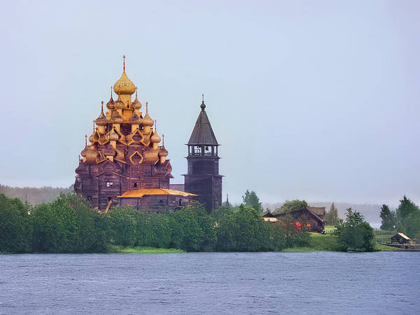 Photograph - The Church Of The Transfiguration, Kizhi, Russia by Kay Brewer