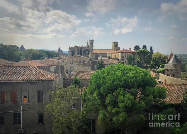Photograph - The Citadel In Carcassone by Luther Fine Art