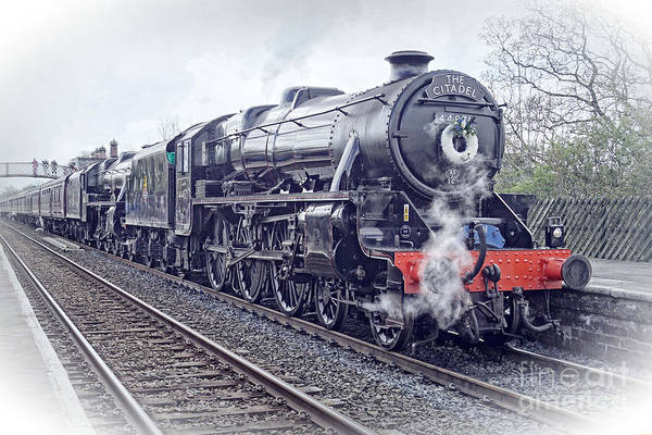 Photograph - The Citadel Steam Special. by David Birchall