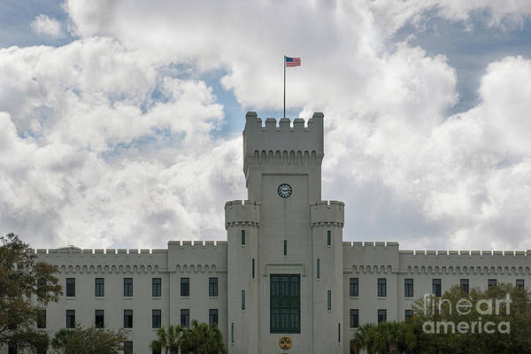 Photograph - The Citadel - The Military College Of South Carolina by Dale Powell