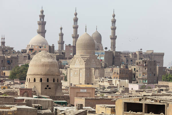The City Of The Dead Qarafa, Arafa In Art Print
