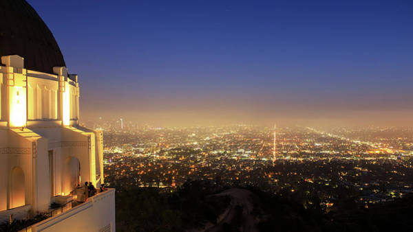 Wall Art - Photograph - The Cityscape Of Los Angeles by Jeff Dai