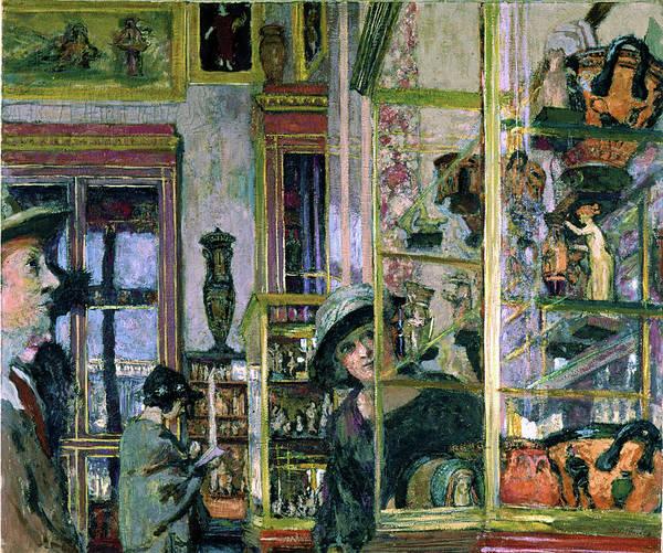 Wall Art - Painting - The Clarac Room - Digital Remastered Edition by Edouard Vuillard