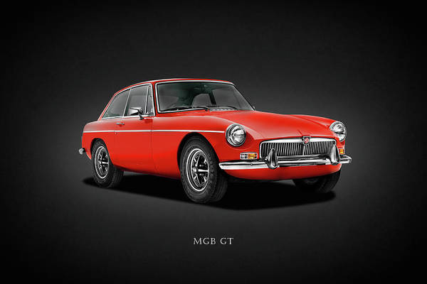 Wall Art - Photograph - The Classic Mgb Gt by Mark Rogan