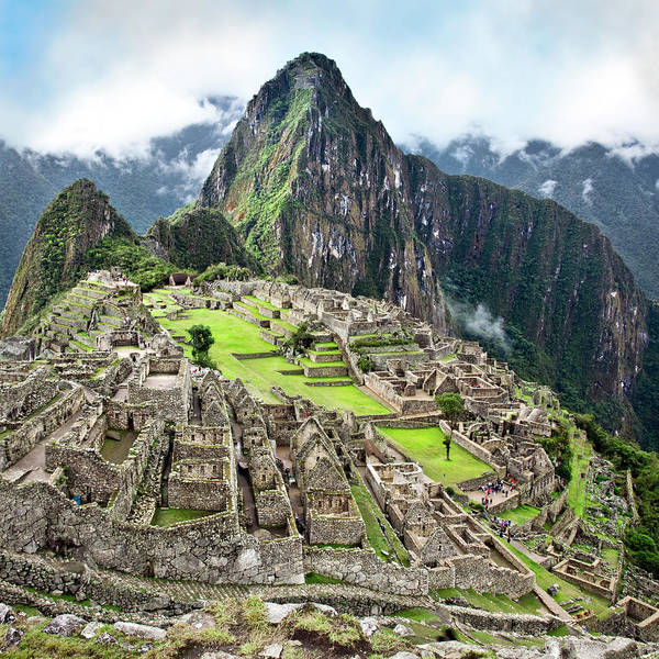 Wall Art - Photograph - The Classic Shot Of Machu Picchu by Nicolamargaret